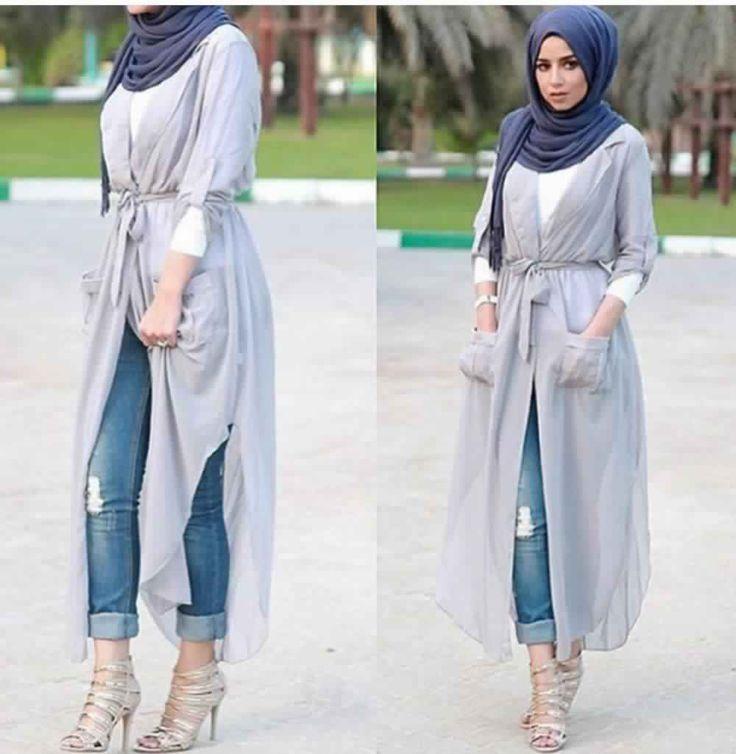 Les 25 Meilleures Id Es De La Cat Gorie Tenues Avec Hijab Sur Pinterest Mode Hijab Mode T
