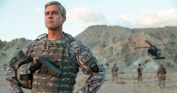 "See Brad Pitt Play Runaway General in 'War Machine' Trailer: The wry first trailer for the movie War Machine offers up a humorous look at Brad Pitt as four-star General Glen McMahon, a man sent to put an end to George W. Bush's war in Afghanistan. But from the start, he has to lead his troops in shocking ways – such as reminding them not to hurt civilians. ""We can't help them and kill them at the same time,"" Pitt growls at his troop in a way thatThis article originally appeared on…"