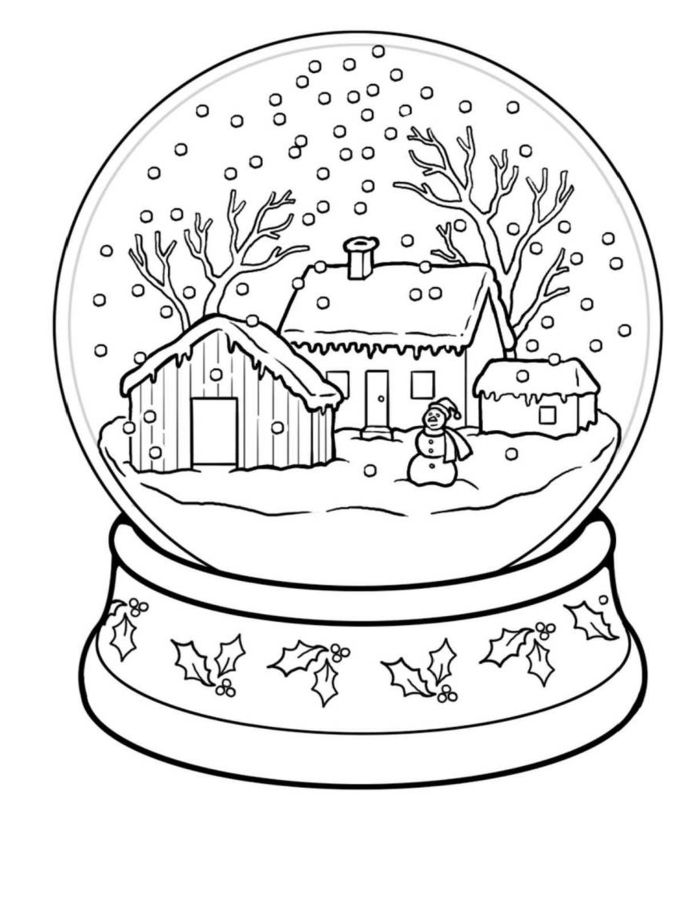 Ideas De Dibujos Para Navidad.1001 Ideas De Dibujos Navidenos Para Colorear Anime