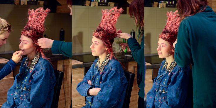 working working ^^  #hairstyle