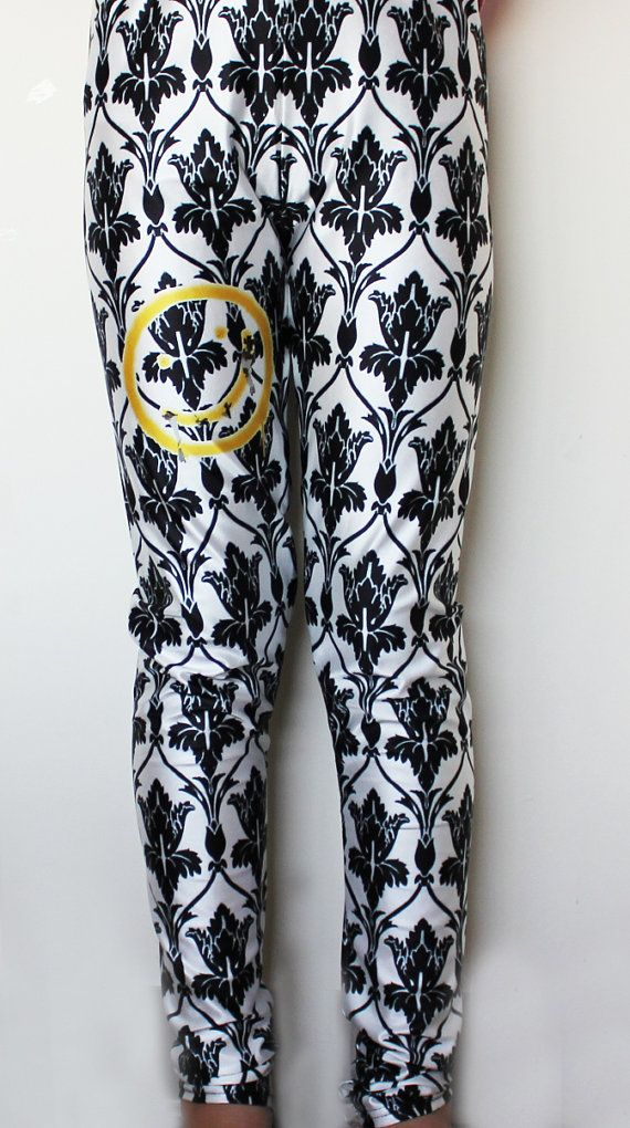 SHERLOCK BBC BORED Smiley Wallpaper Leggings by ConsultingFanGeeks, $50.00 - I NEED THESE!! I NEED THEM!!!