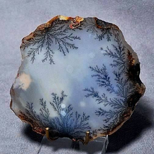 Best Crystals Gems Fossils Images On Pinterest Fossils - Amazing agate gemstones resemble snapshots of earths landscapes
