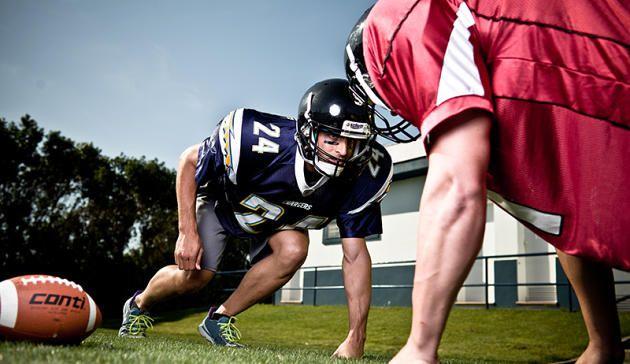Die Profis der American-Football-Liga NFL gehören zu den fittesten Sportlern der Welt