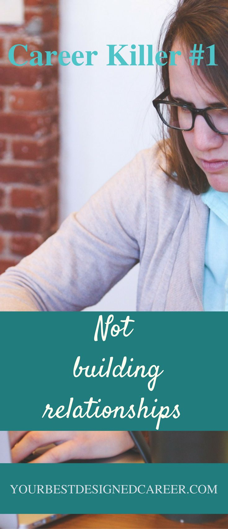 Are you building relationships at work? If not, you may find that you will not get as far in your career.