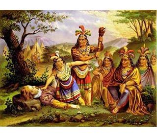 a look at the politically complex indian group the algonquian speaking powhatans Those knowledgeable on algonquian cultures point out that it would have gone against custom for powhatan to have destroyed a visiting group of people from the indian perspective, the english showed some talents and knowledge that would have been useful if they could be brought under powhatan's leadership of if they remained as allies.