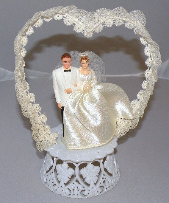 antique wedding cake decorations vintage cake topper vintage cake toppers 10794