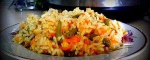 Рис с замороженными овощами рецепт в мультиварке