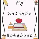 FREEBIE! This is a fun science notebook cover page that can be stapled, glued, or slid into a sleeve on any notebook.  This product was made to accompany ou...