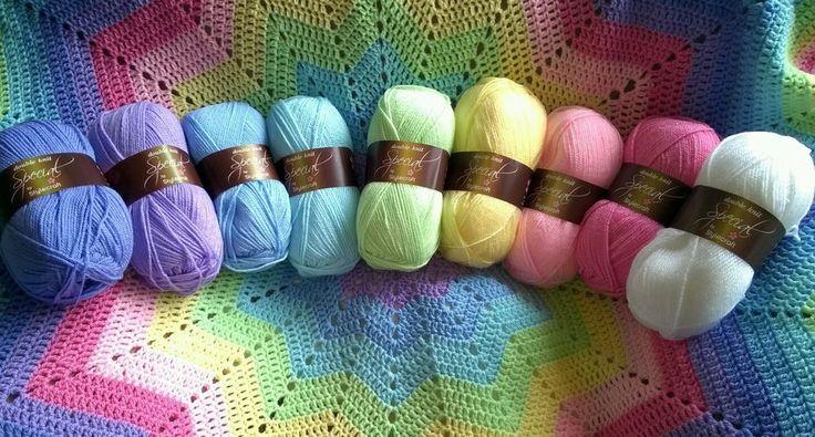 Stylecraft special dk 9 x 100g pastel rainbow pack