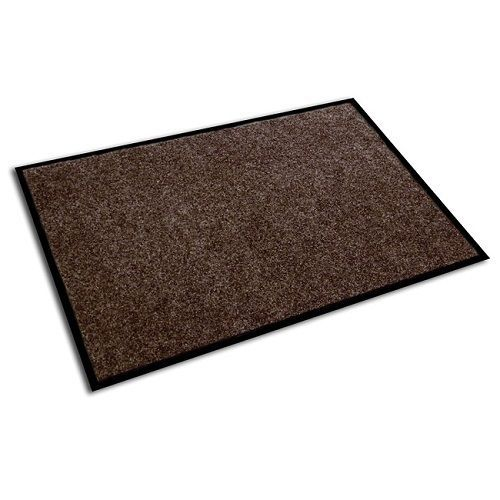 Large Floor Entrance Mat Brown Anti Slip Rubber Recycled Welcome Mats Patio Rug  #FloortexEcotex #Entrancemat