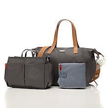 Buy Storksak Noa Changing Bag, Grey Online at johnlewis.com