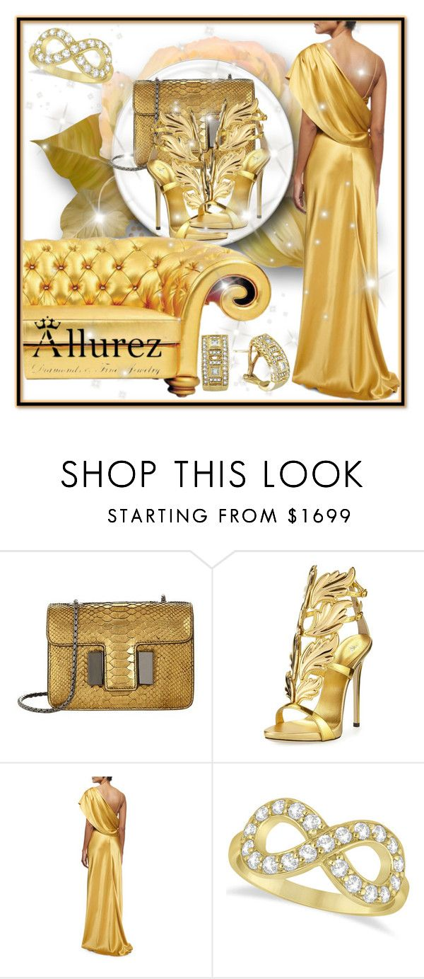"""8. Allurez"" by maya-devojka ❤ liked on Polyvore featuring Tom Ford, Giuseppe Zanotti, Cushnie Et Ochs and Allurez"
