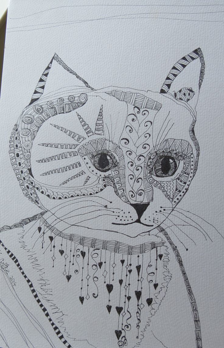 for the love of drawing ,, pen art by kat gottke,, sept 2014