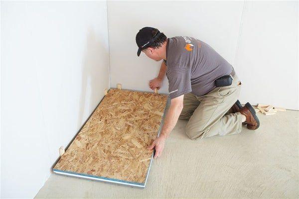 Insulated Subfloor Tiles