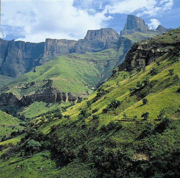 Drakensberg Mountains, South Africa