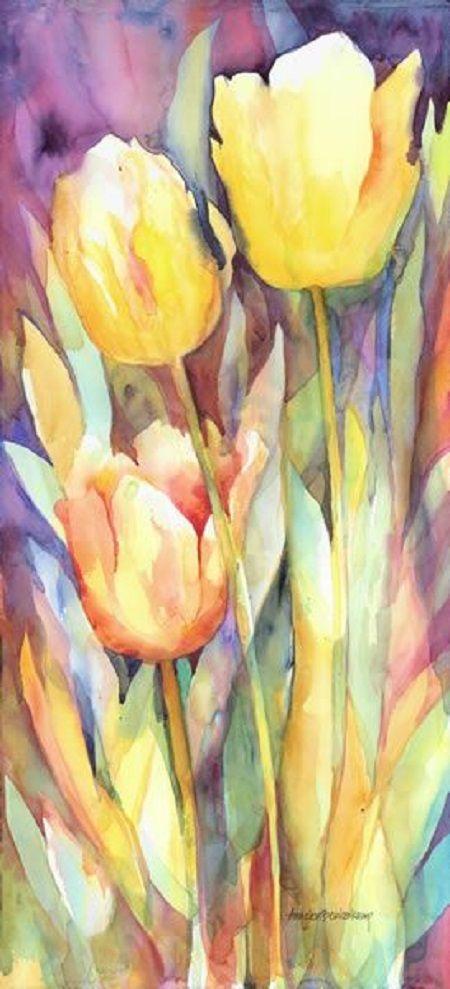 gosunshinegold:  Floral/Still Life «Annelein Beukenkamp Watercolors