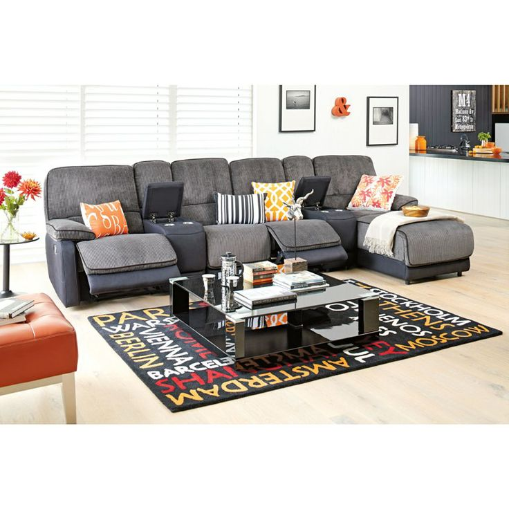 Frida Theatre 4 Seat Corner with Chaise - Fabric from Harvey Norman NewZealand $2499   shop   Pinterest   Lounge suites Theater seats and Living rooms  sc 1 st  Pinterest : chaise lounge harvey norman - Sectionals, Sofas & Couches
