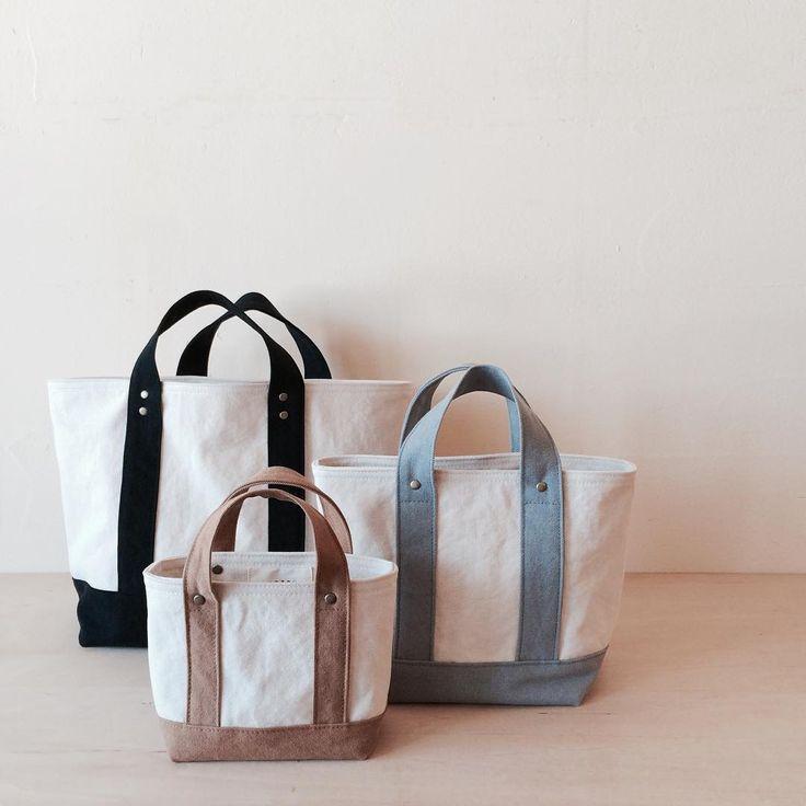 ひとつひとつ心を込めてLASICU(ラシク)の帆布バッグたち