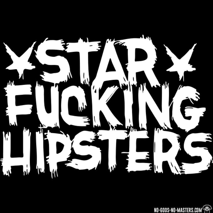 Tshirt band punk star fucking hipsters d001000931572 png