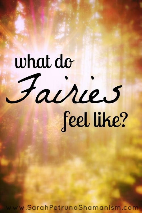 What Does the Presence of a Fairy (or Fairies) Feel Like? Find out how to tell if you are being visited by a fairy!