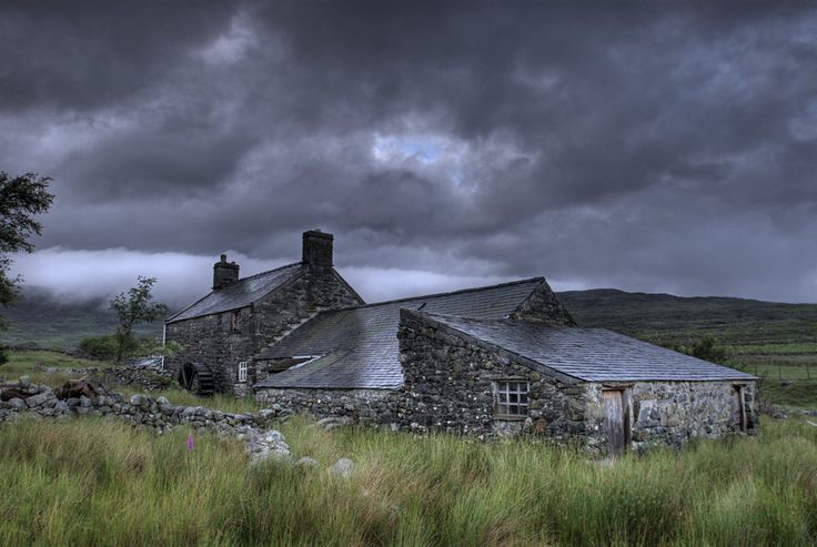 This rustic cottage in Wales. | 22 Beautiful Cottages You Wished You Lived In