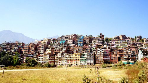 Colorful Kirtipur, a beautiful city on the hill, once the kindom in Kathmandu Valley
