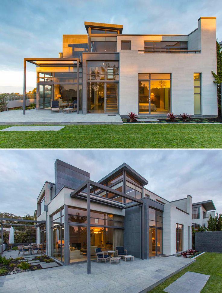 57 best planos y casas minimalistas images on pinterest for Casas minimalistas planos