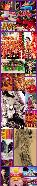 Inspiration Board Indian Summer Wedding