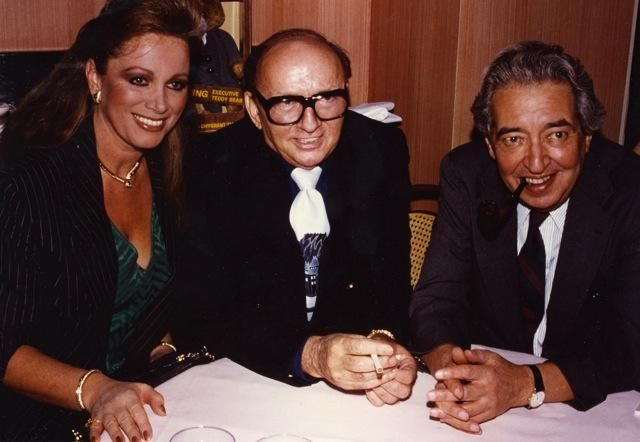#ThrowbackThursday W/ Harold Robbins and Irving Wallace