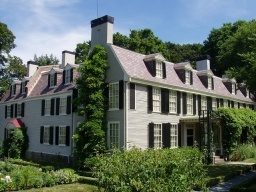 John and Abigail Adams purchased this home in 1787. It had belonged to a Loyalist who fled New England during the war. It sits right next to the other two Adams homes, the John Adams birthplace home and the John Quincy Adams birthplace home. All three houses are part of the Adams National Historic Park, which is managed by the National Park Service.