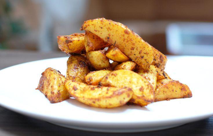 Fotorecept: Grilované zemiaky v cesnakovej marináde