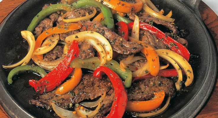 Fired Up Southwest Fajitas: Get authentic Southwest flavors with flank steak marinated with Grill Mates® Mexican Fiesta Marinade. Serve with fajita toppings, such as salsa, sour cream,...