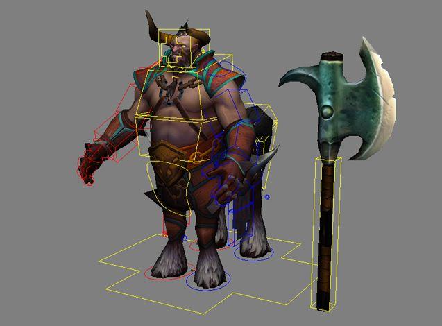 dota 2 character rig dump polycount forum maya rigs