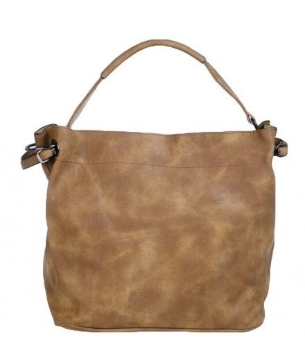 Bag in bag tas met rits Camel