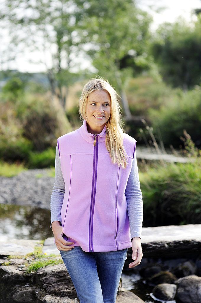 Dunloe Women's Fleece Vest - Lee Valley