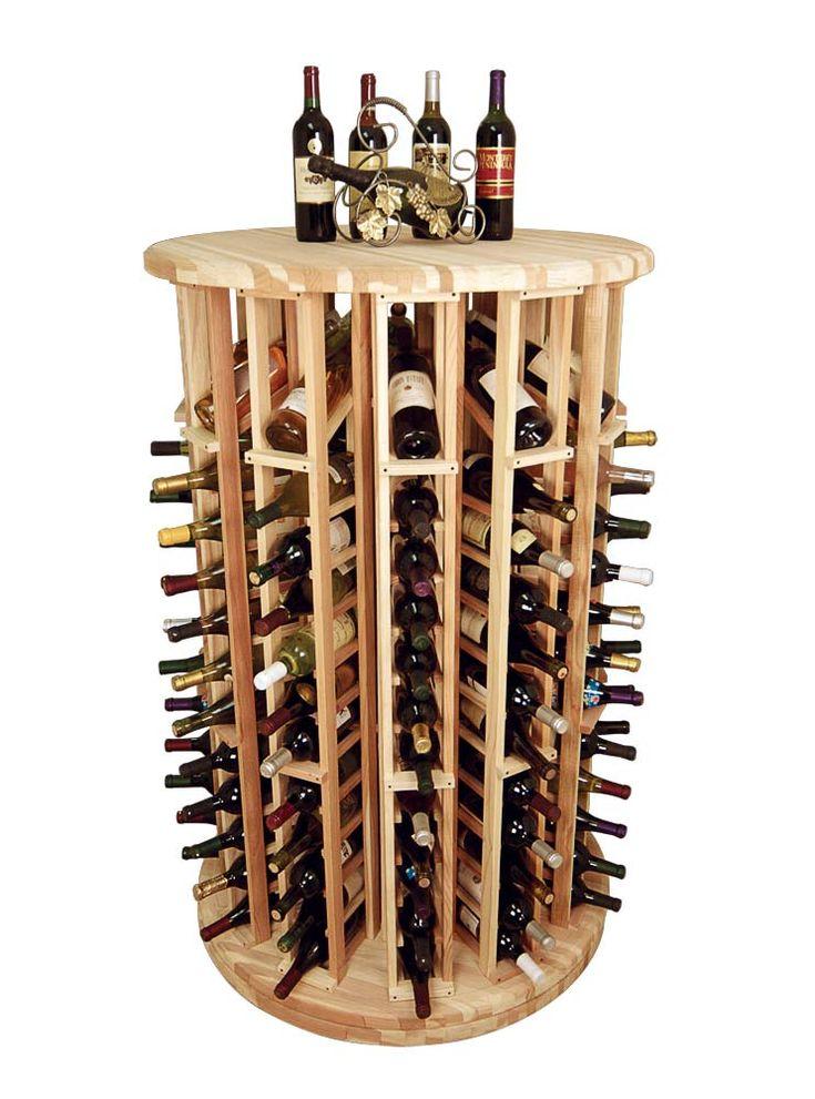 Wine Cellar Innovations Circular Wine Display Carousel