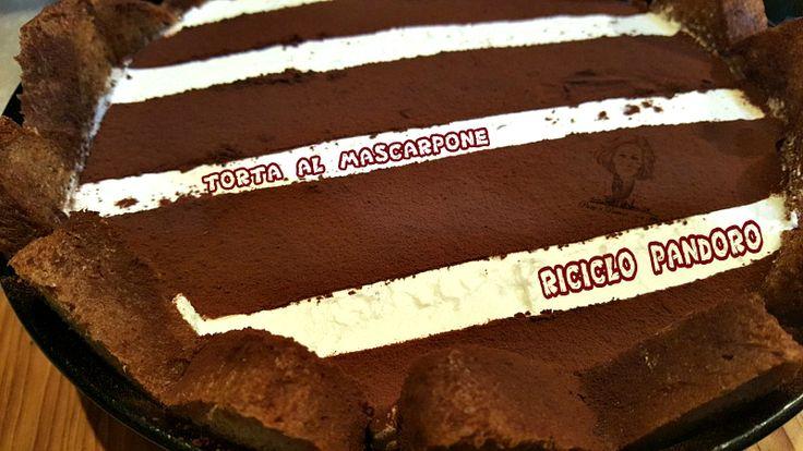 Riciclo+pandoro:Torta+veloce+al+mascarpone
