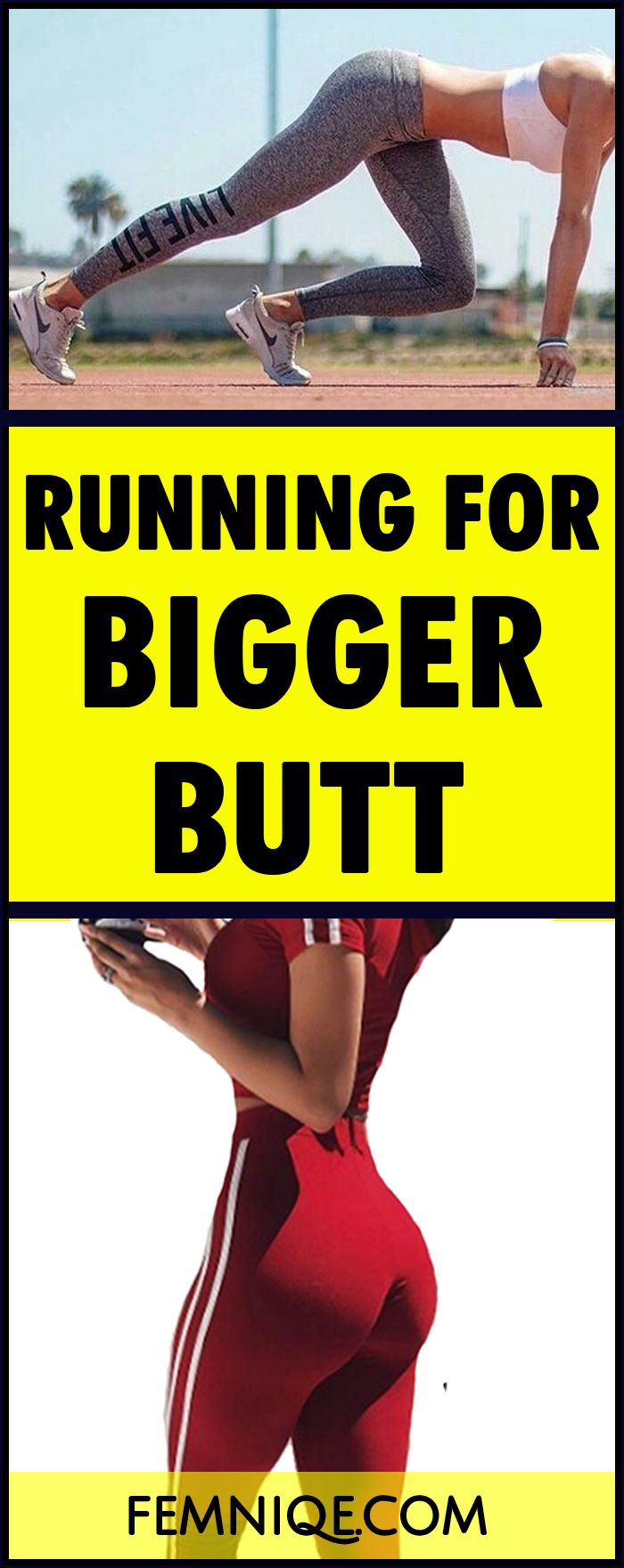 how to make your butt bigger by running