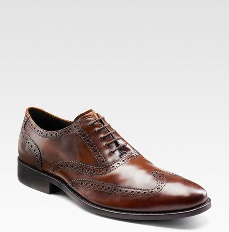Brown Cambridge Men´s Wingtip Oxfords. Cole Haan OxfordsOxford Shoes ...