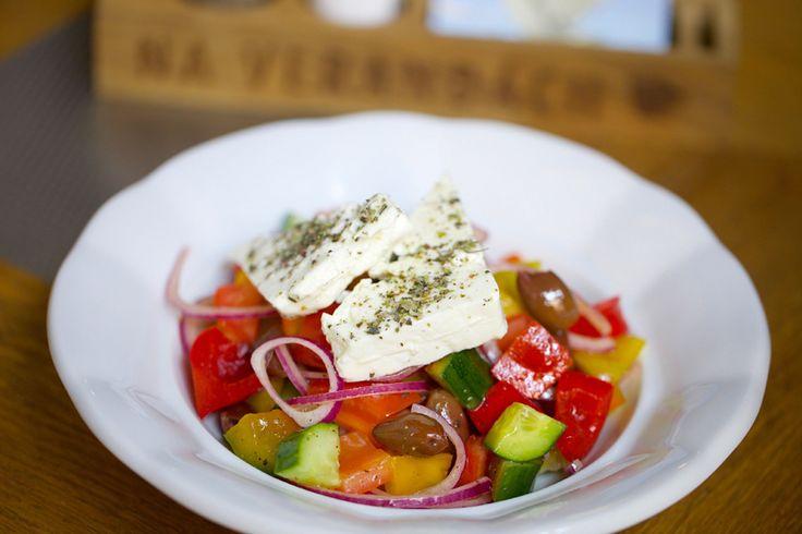New menu Greek salad