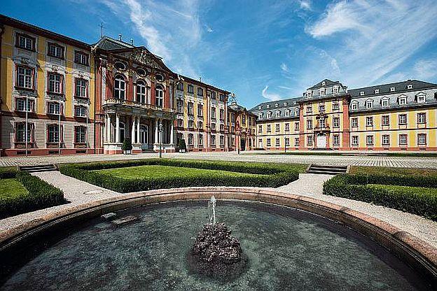 Schloss Bruchsal, D-76646 Bruchsal im Landkreis Karlsruhe, Baden-Württemberg. © SSG Pressebild