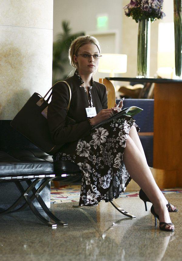 Rachel Nichols  aka Rachel Gibson on Alias