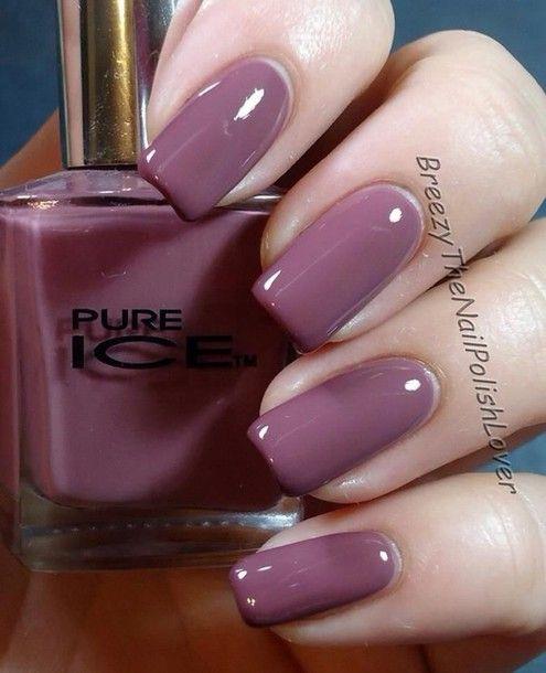 Purple Taupe Nail Polish