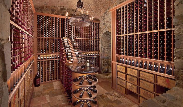 residential wine cellars - Google Search