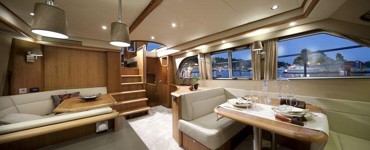Linssen Yacht Mark III Wheelhouse