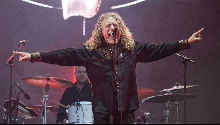 Robert Plant at Pori Jazz Festival - Pori, Finland - July 18, 2015.