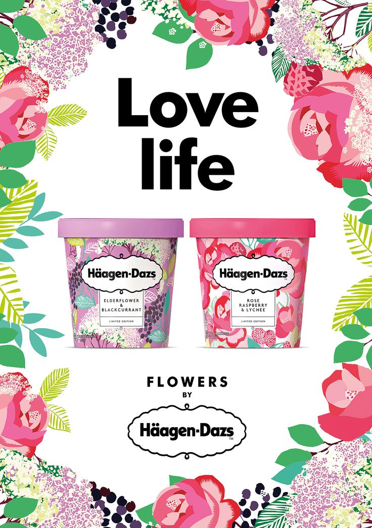 This Floral Inspired Ice Cream Will Have You Ready for Spring — The Dieline | Packaging & Branding Design & Innovation News