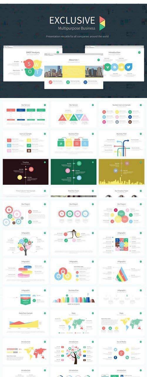 CreativeMarket - Exclusive Presentation PowerPoint
