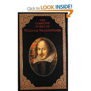 Leatherbound Complete Works of Shakespeare
