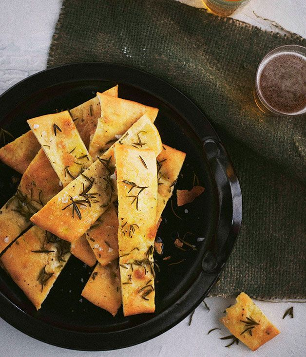 Australian Gourmet Traveller recipe for pizza bianca.